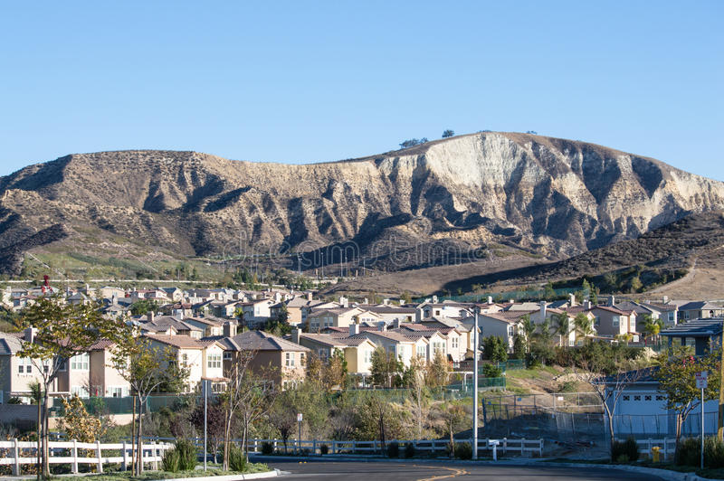 Simi Valley Hills royaltyfria bilder