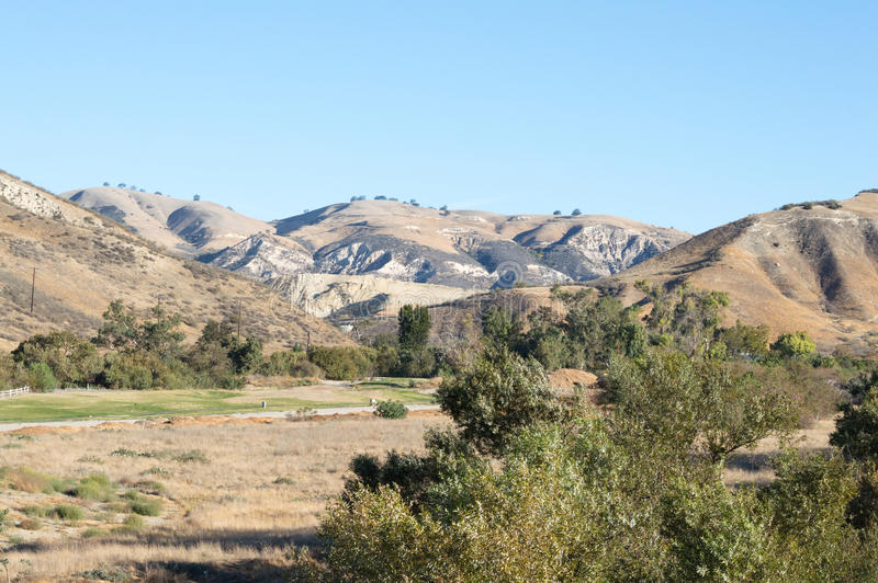 Simi Valley Hills arkivfoto