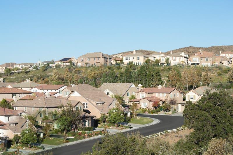 Simi Valley Hills imagem de stock