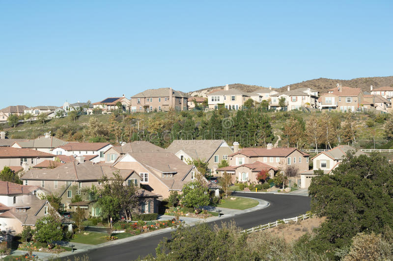 Simi Valley Hills arkivbild