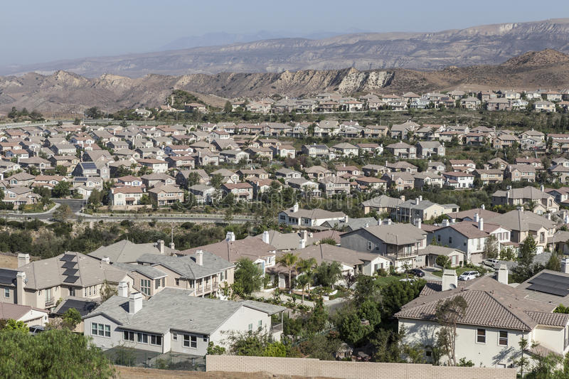 Simi Valley Ventura County California image stock