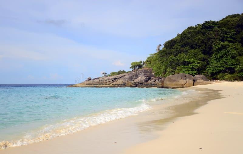 Similan海岛在安达曼海,泰国 免版税库存照片