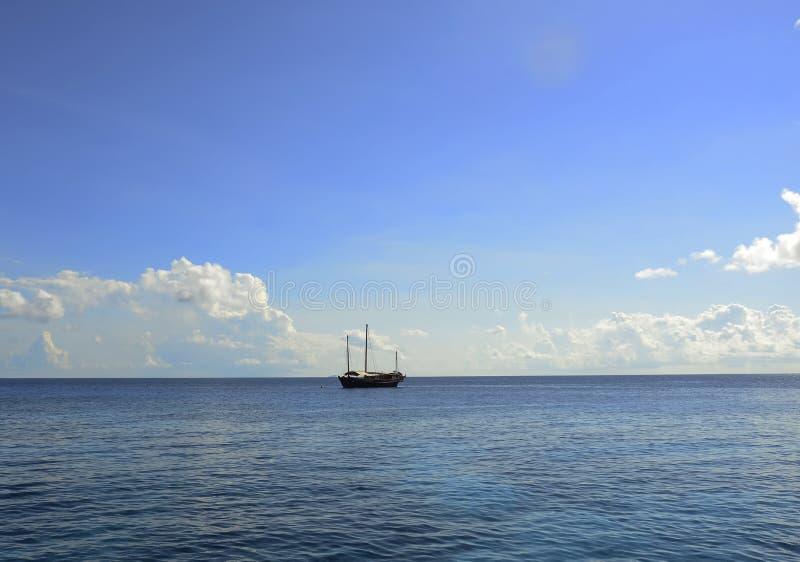 Similan海岛在安达曼海,泰国 免版税图库摄影