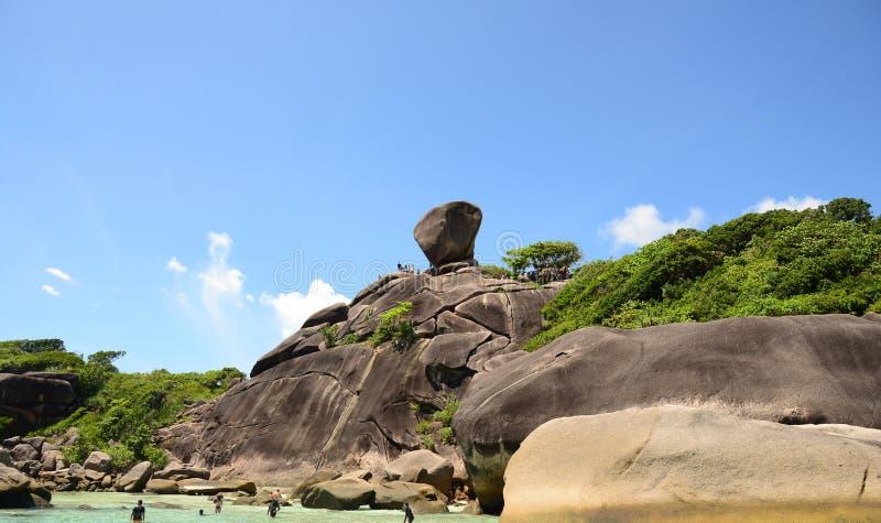 SIMILAN海岛,泰国-, 3 免版税图库摄影