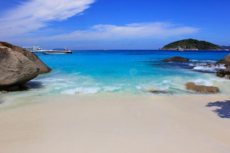 similan的海岛 库存图片