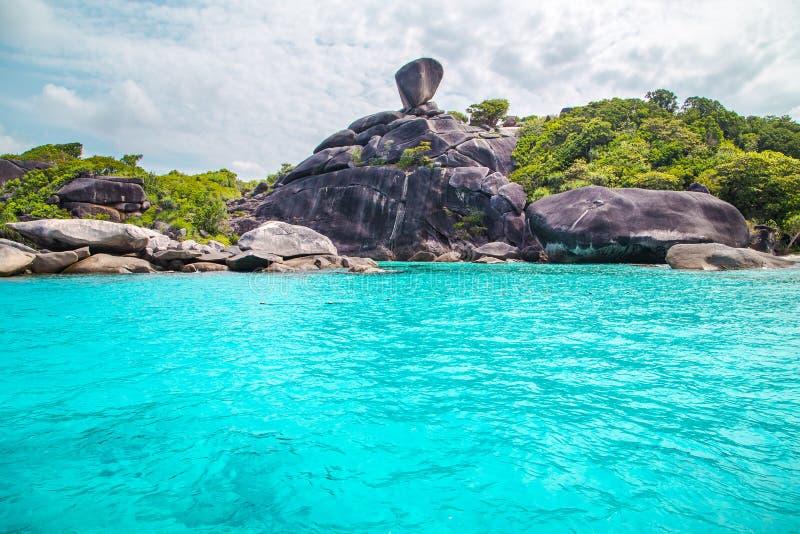 similan的海岛 库存照片