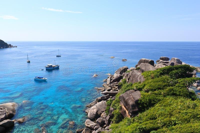 Download Similan island stock image. Image of boat, landscape - 28802255