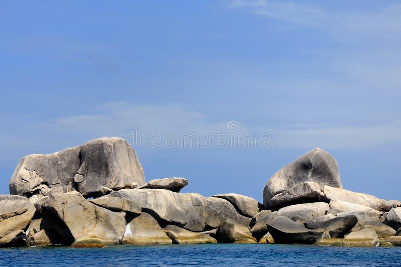Similan island, Thailand. Similan island, Island on the sea south of Thailand stock photo