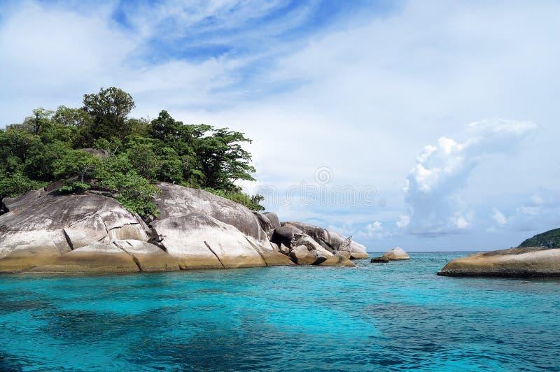 Download Similan islands stock image. Image of journey, cloud - 17442893
