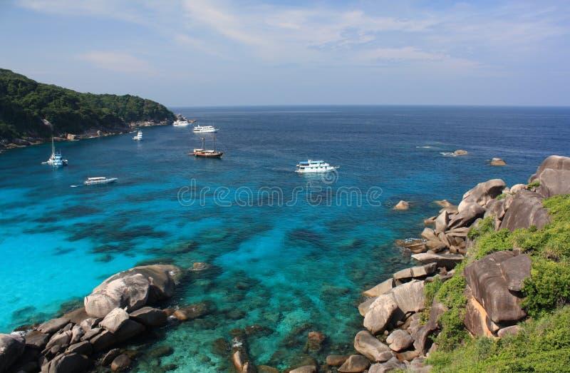Download Similan islands, Thailand stock image. Image of landscape - 23006835