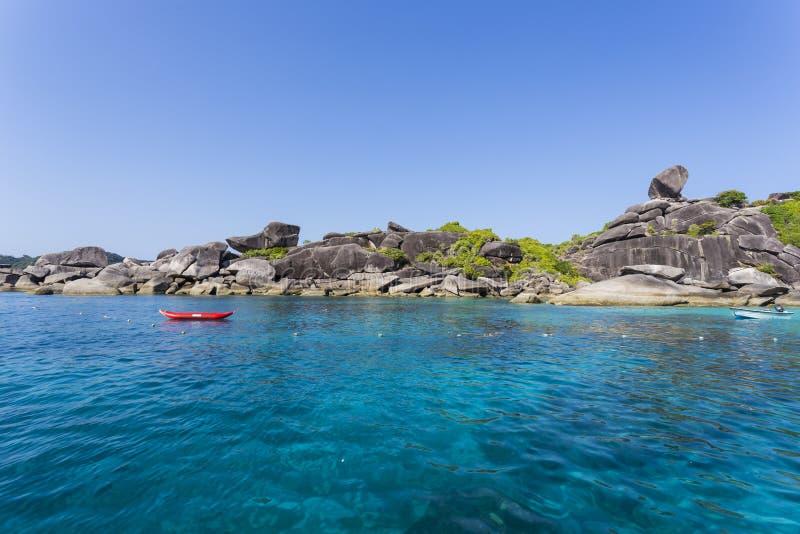 Download Similan Nationaal Park In Thailand Stock Afbeelding - Afbeelding bestaande uit mooi, blauw: 39100509