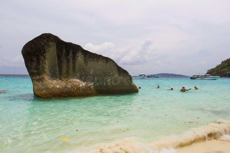Similan Thailand sea. Similan island sea of Thailand royalty free stock image