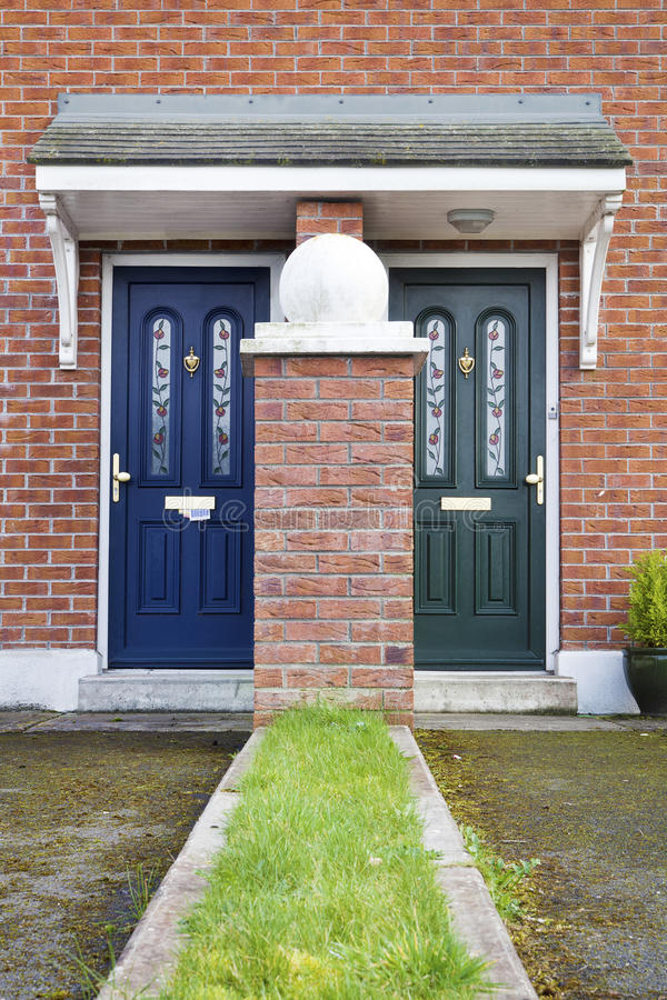 Download Similar But Different Entrance Door Stock Photo - Image: 24039046