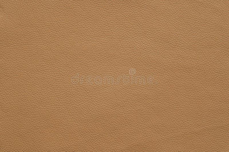 Similicuir brun clair avec la grande texture photographie stock