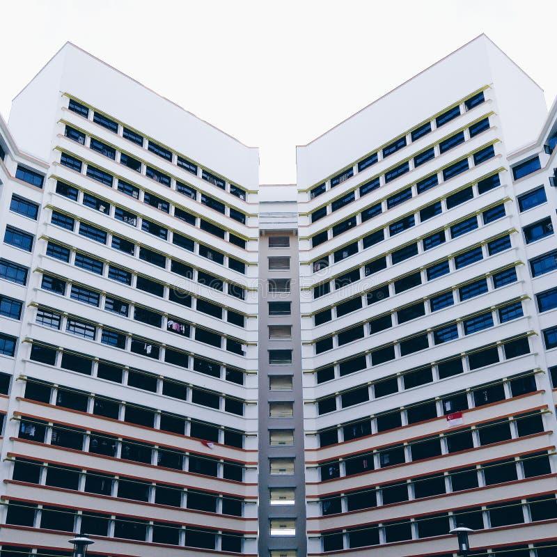 Simmetria di Yishun fotografia stock