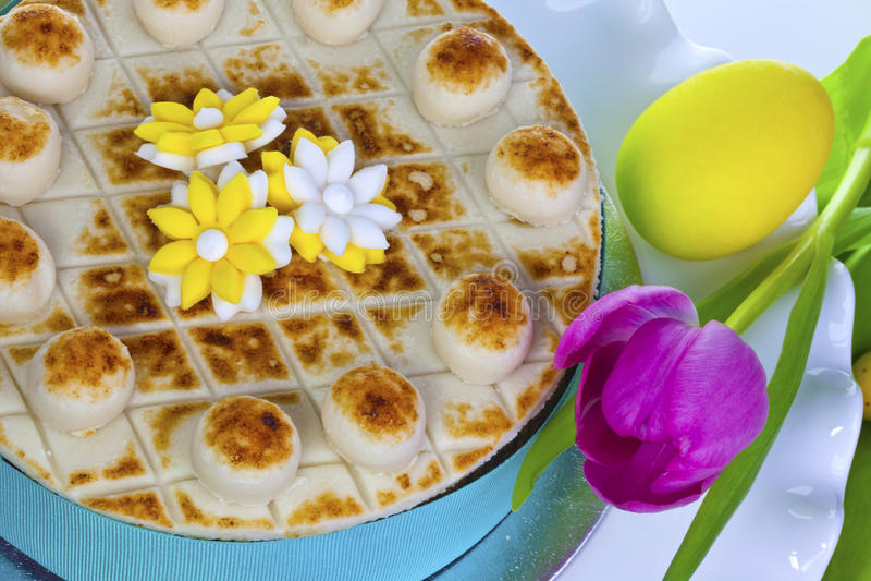 Decorated Cake. Royalty Free Stock Photo