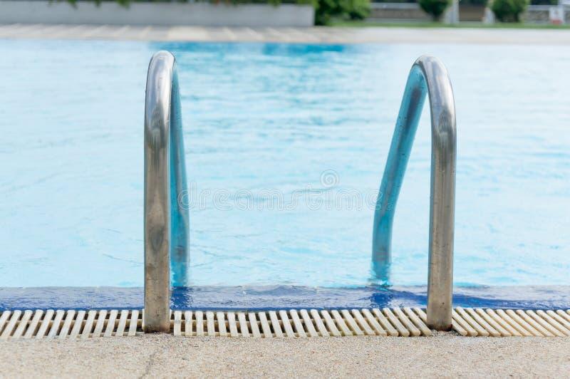 simning för hotellpöltrappa royaltyfri bild