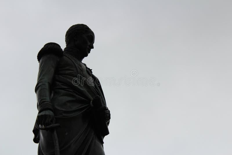 Simon Bolivar雕象 库存照片