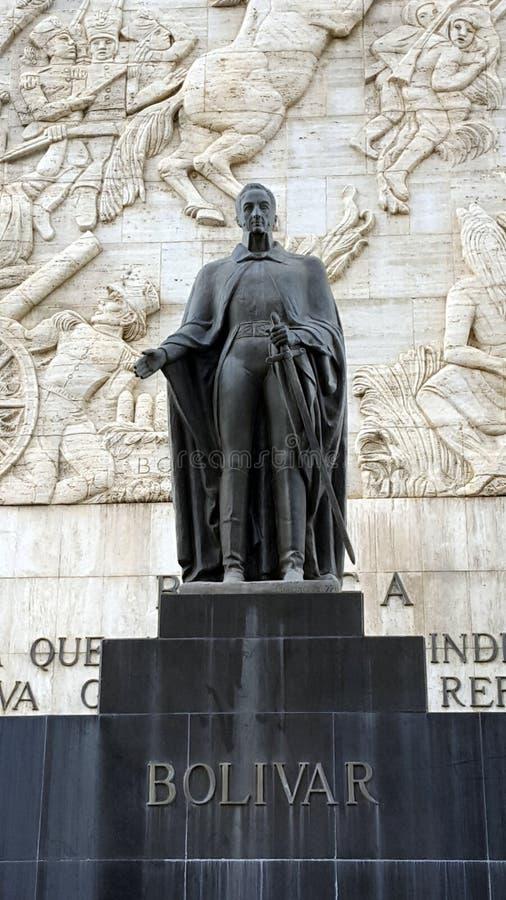 Simon Bolivar Liberator stockfotos