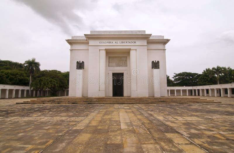 Simon- Bolivardenkmal lizenzfreie stockfotos