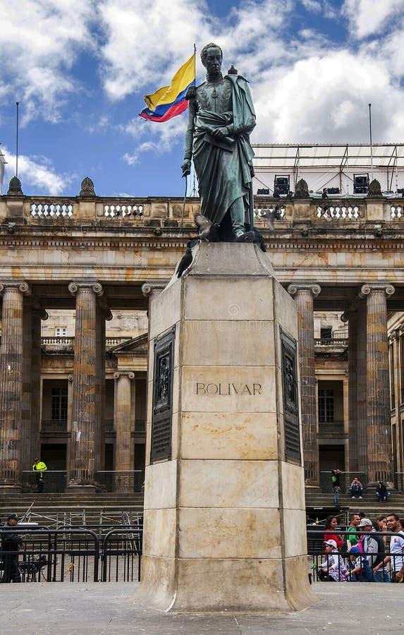 Simon- Bolivardenkmal lizenzfreie stockfotografie