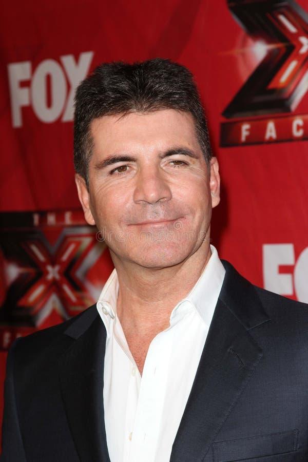 Simon Cowell immagine stock