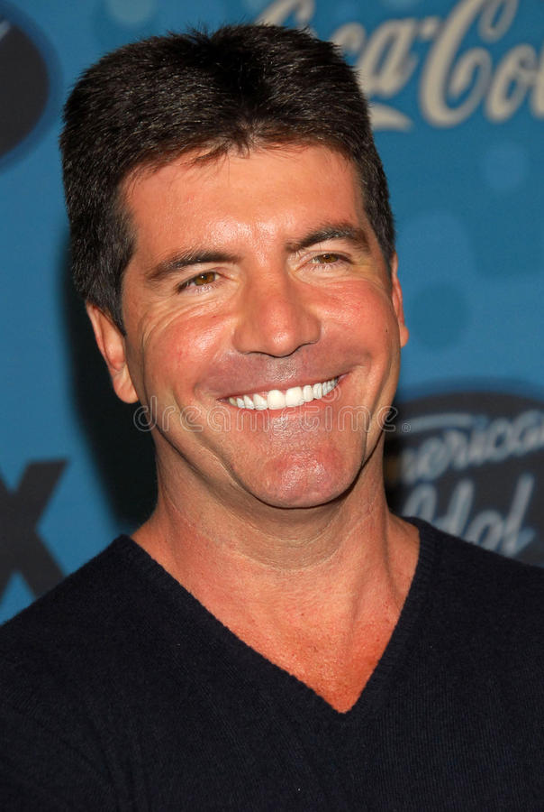 Simon Cowell. At the celebration for the Top 12 American Idol Finalists. Astra West, West Hollywood, CA. 03-09-06 royalty free stock photo