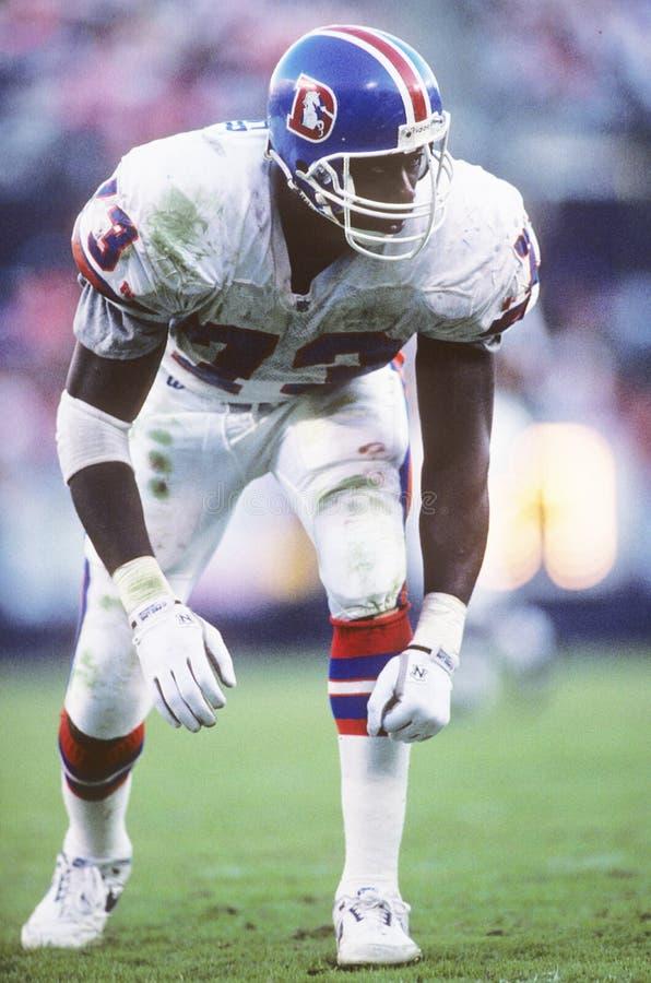 Simon Fletcher. Denver Broncos DL Simon Fletcher. (image taken from color slide stock images