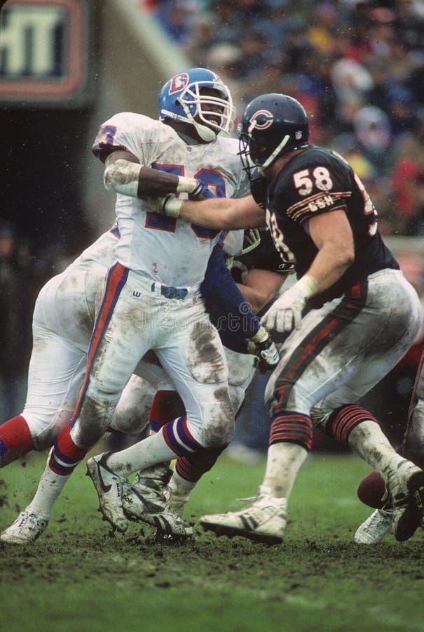 Simon Fletcher. Denver Broncos LB Simon Fletcher #73. (Image taken from color slide stock images