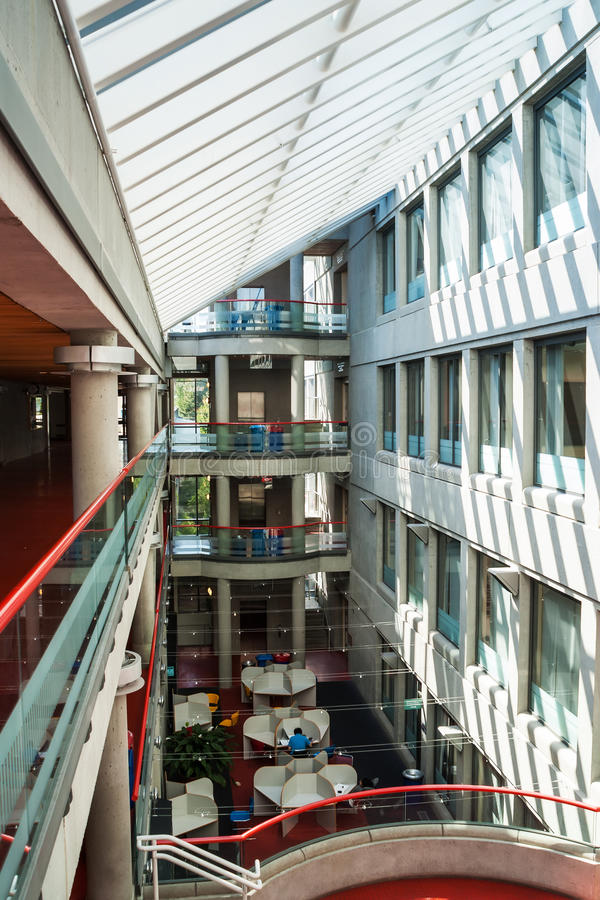 Simon Fraser University, Βανκούβερ, Καναδάς στοκ εικόνα με δικαίωμα ελεύθερης χρήσης