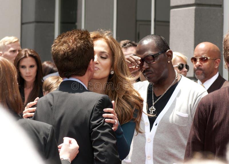 Simon Fuller Hollywood Walk of Fame Star Ceremony