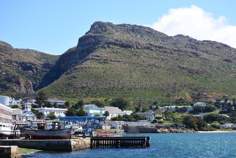 Simon ` s miasteczko, przylądka półwysep, Południowa Afryka zdjęcia royalty free
