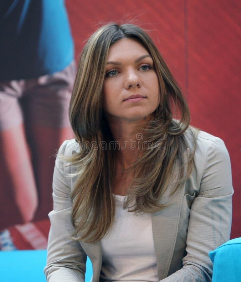 Simona Halep fotografía de archivo libre de regalías