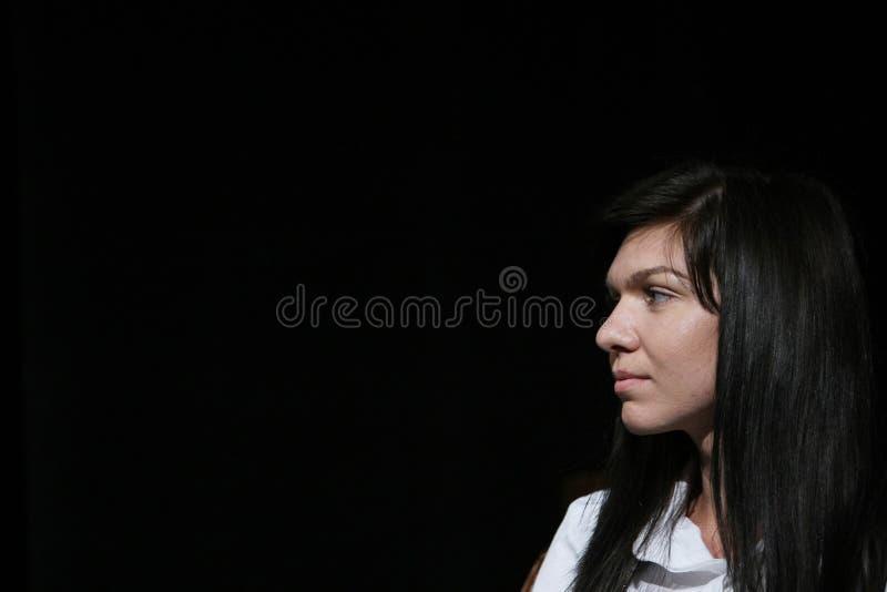 Simona Halep στοκ φωτογραφία
