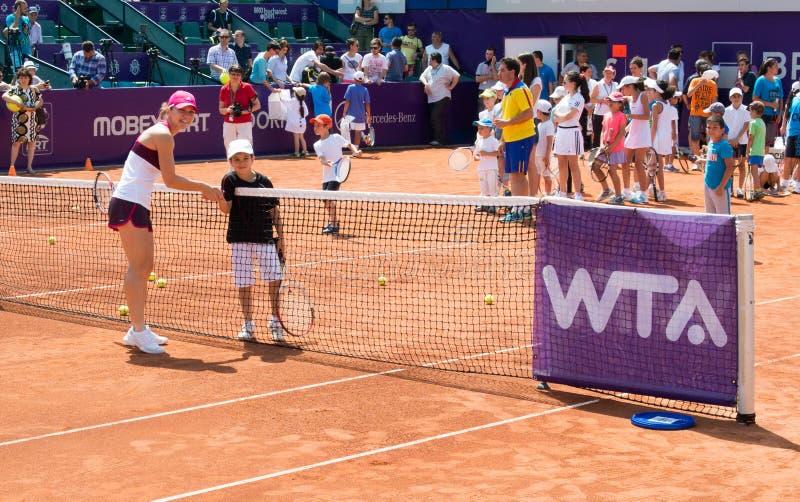 Download Simona Halep BRD OPEN WTA editorial stock photo. Image of bucharest - 42256338