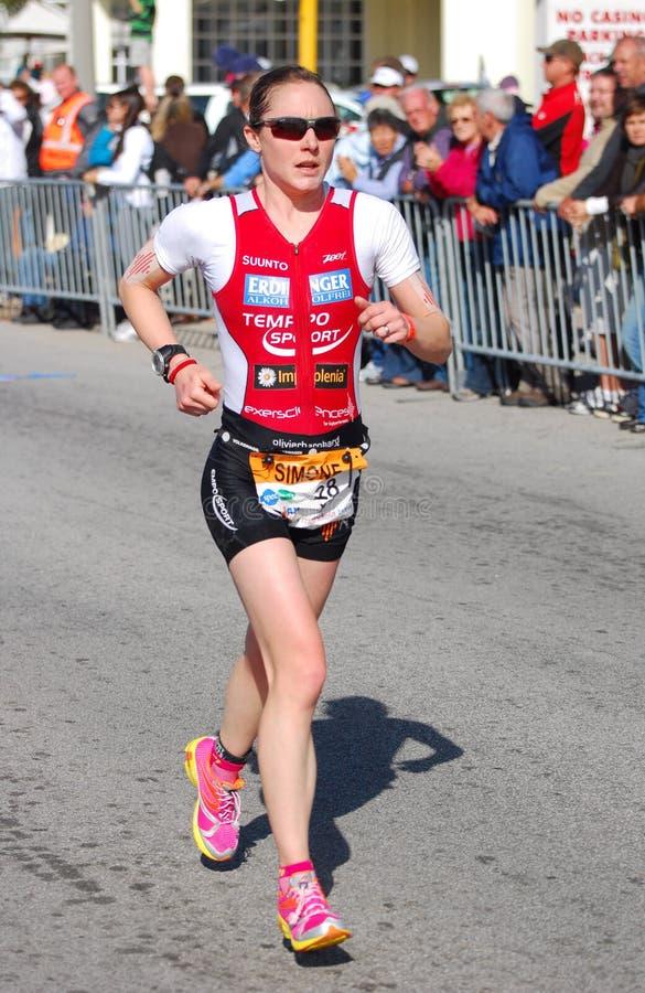 Simone Braendli, Ironman stock photos