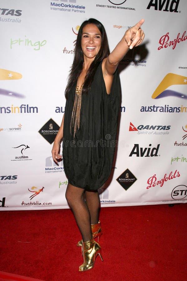 Simone Kessell at the Australian Academy Award Celebration. Chateau Marmont, West Hollywood, CA. 90046 stock photography