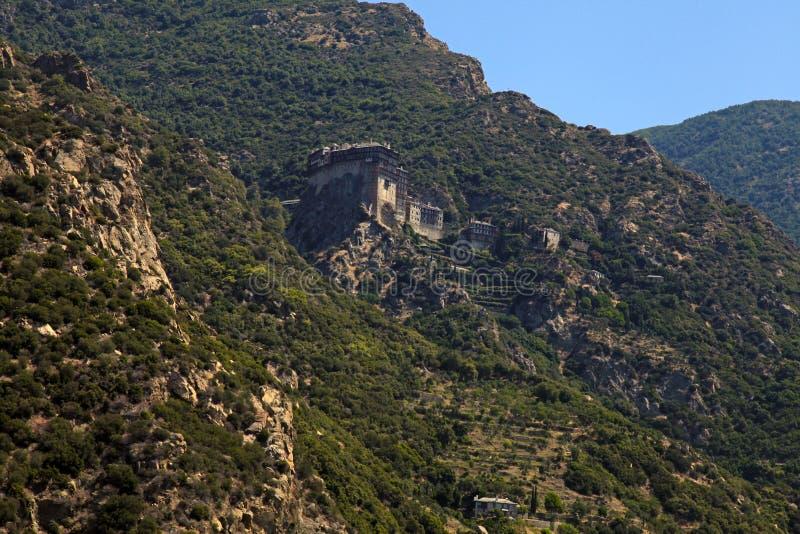 Simonopetra Monastery, Mount Athos, Greece stock photography