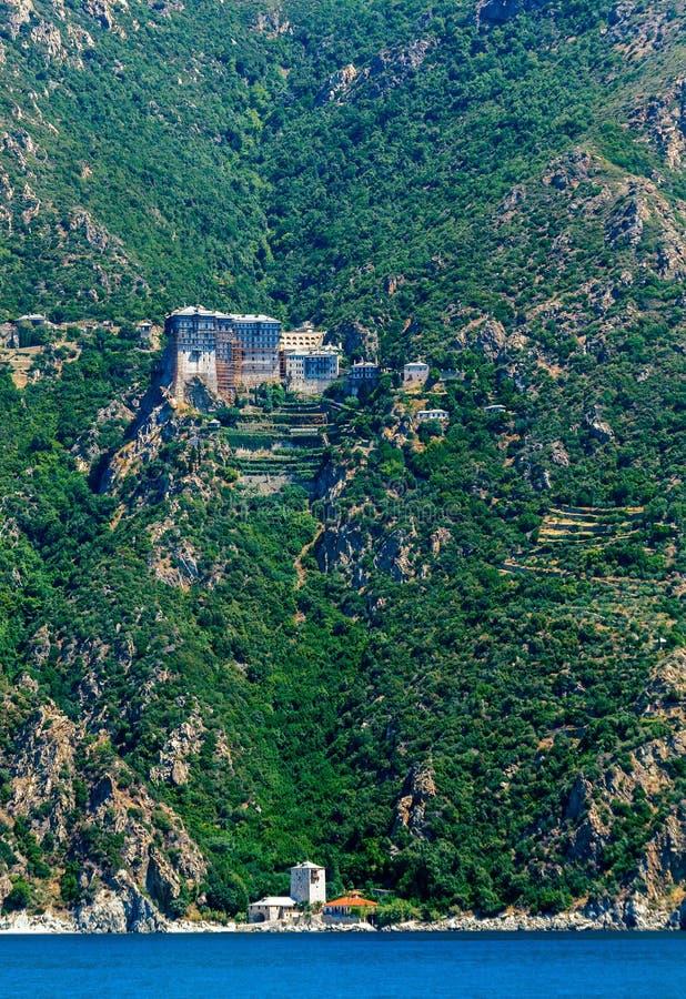 Simonopetra Monastery, Mount Athos royalty free stock images