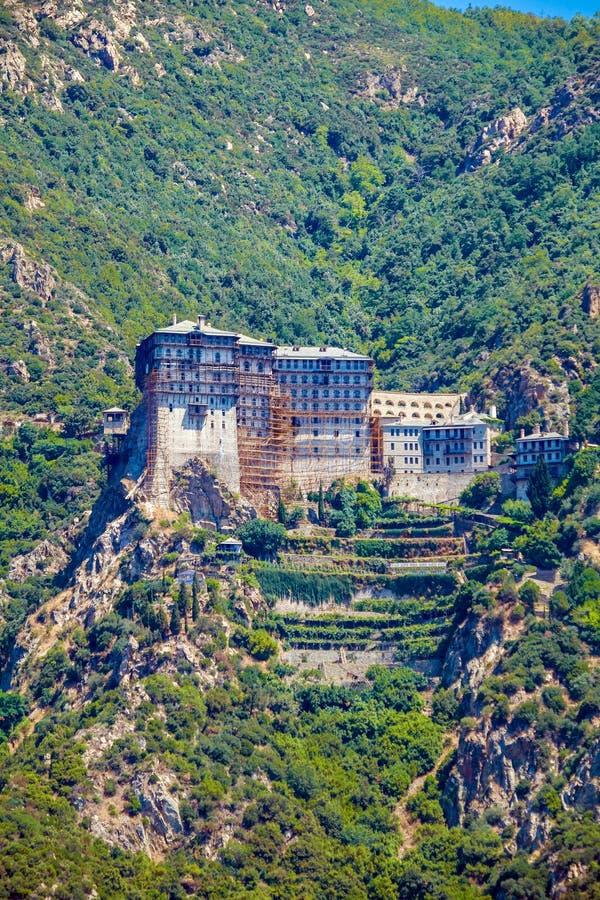 Simonopetra Monastery, Mount Athos stock photos
