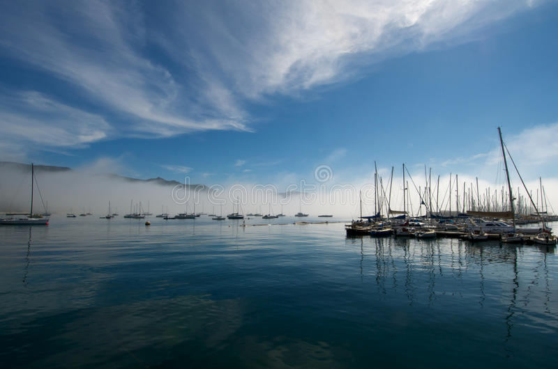 Download Simonstown Yachts stock image. Image of town, cape, sailing - 14139875