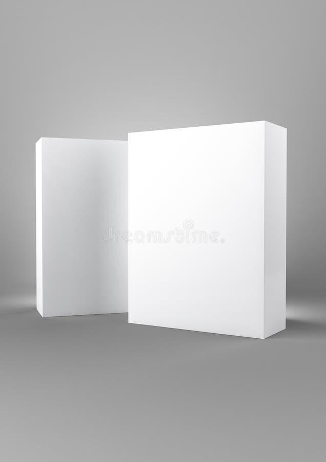 Simple 2 Box vector illustration