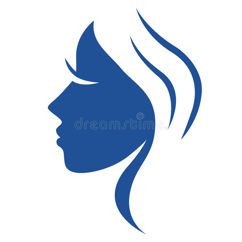 Download Simple Abstract Beauty Woman Face. Stock Image - Image: 21756481