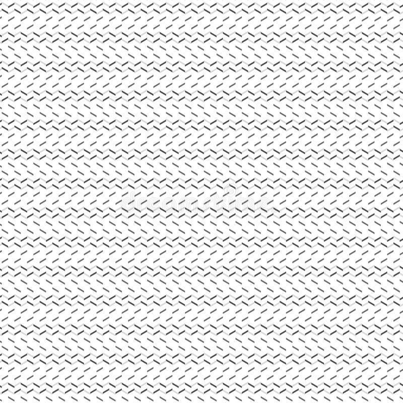 Simple Abstract Gray Stripe Zig Zag Line Fabric Pattern Illustration Seamless stock illustration