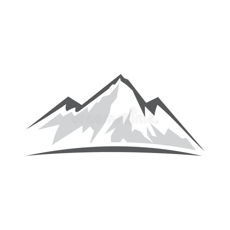Abstract Mountain Logo royalty free stock photos