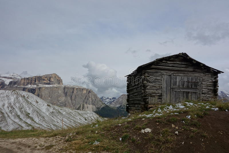 Download Simple Accommodation But With Great Views Stock Photo - Image of tourism, alps: 39505254
