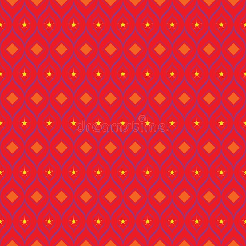 Simple art decor pattern design. Vector illustration. Simple art decor pattern design. Trendy textile texture. Vector illustration stock illustration