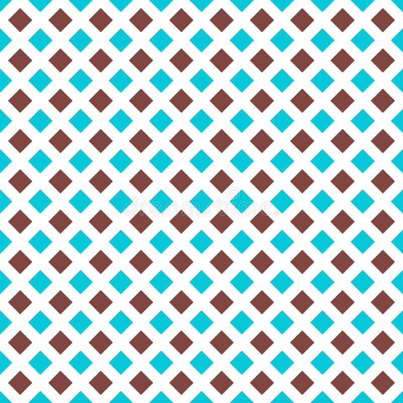 Simple background with rhombs. Endless texture can be used for printing onto fabric, paper or scrap booking, wallpaper, pattern fills, web page background vector illustration
