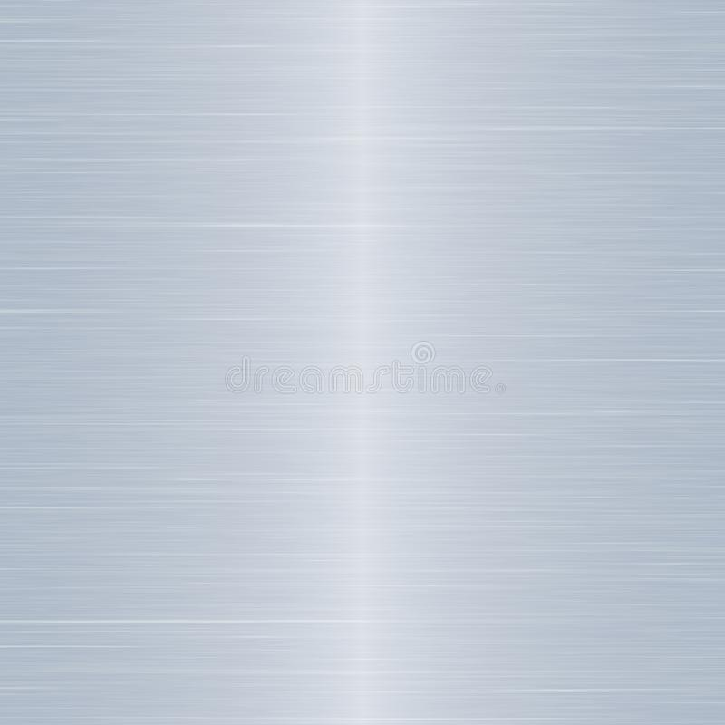 Stainless Steel Silver Effect Metal Sheet royalty free stock image