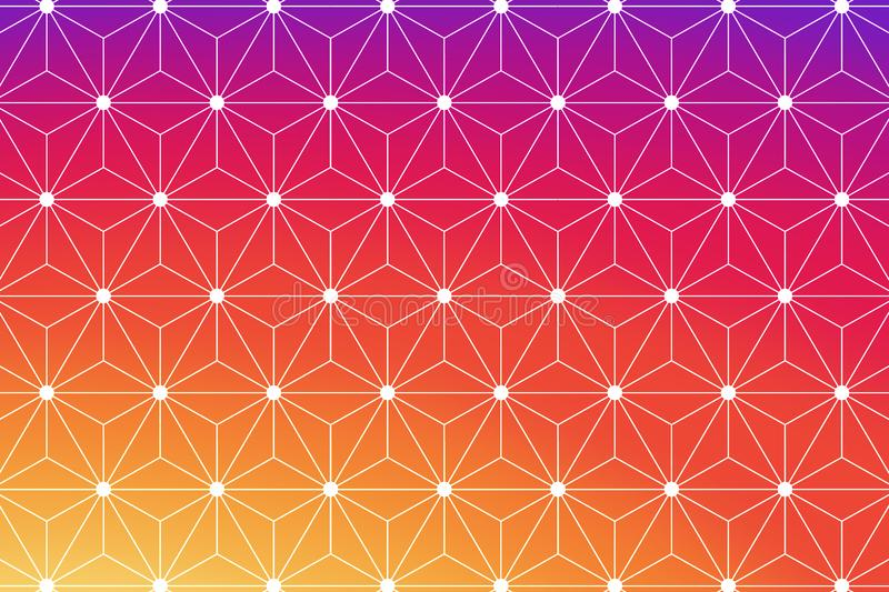 Beautiful abstract background with geometric texture shape royalty free stock photos